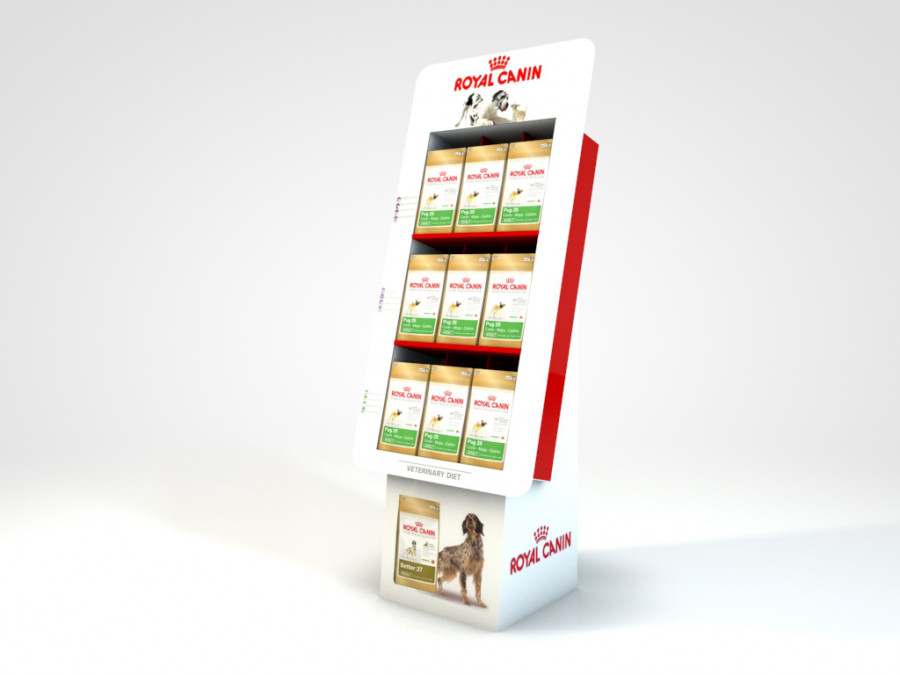 Display de sol ROYAL CANIN